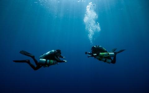 Scubadomain Decompression Diver