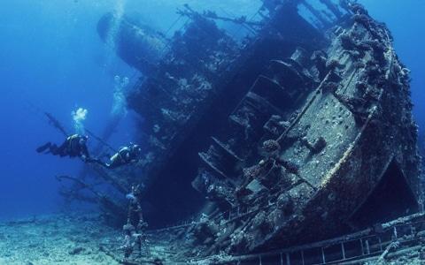 Scubadomain Wreck Diving Esternal Survey